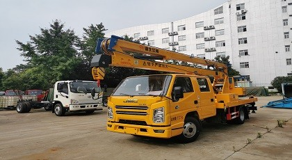 国六江铃16米高空作业车