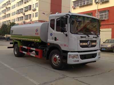 国六12吨东风多利卡D9多功能洒水车