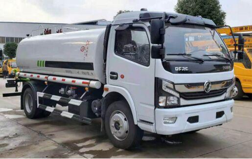 国六东风8吨凯普特绿化喷洒车