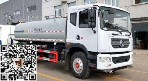 国六东风10吨绿化喷洒车