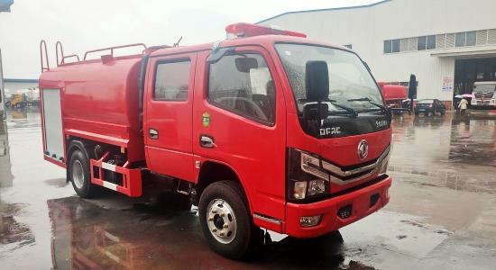 国六东风3.5吨消防洒水车