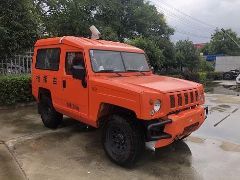 北汽国六森林防火指挥车