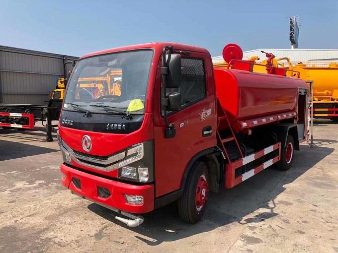 东风4.5吨消防洒水车