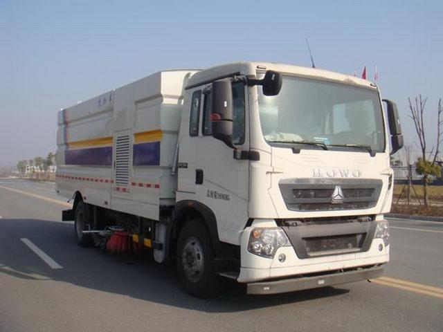 江特牌JDF5160TXSZ5型洗扫车