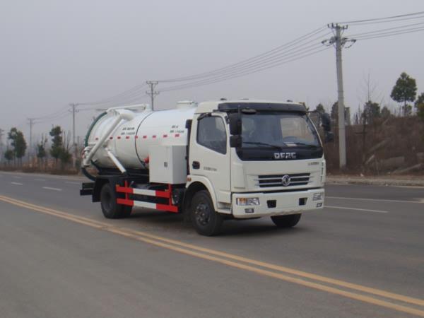 江特牌JDF5080GQWE5型清洗吸污车