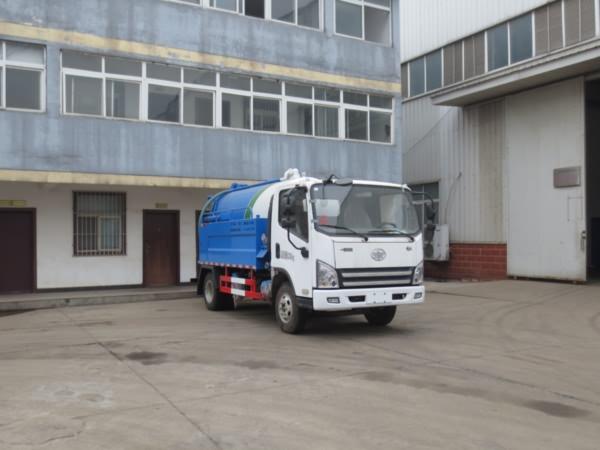 江特牌JDF5080GQWC5型清洗吸污车