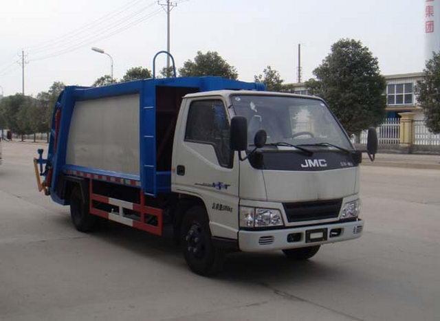 江特牌JDF5060ZYSJ5型压缩式垃圾车