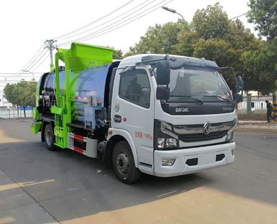 国六东风6方餐厨垃圾车